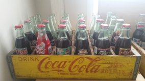 Coca Cola Vintage Crate and Bottles in Conroe, Texas