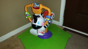 fisher price zebra bounce and spin in Kingwood, Texas