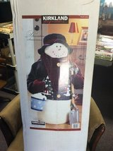 Kirkland signature decorated snowman in box  3 ft tall in 29 Palms, California