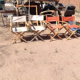 4 Directors chairs in Alamogordo, New Mexico