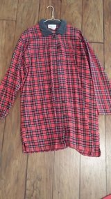 Plaid Robe, Size Medium in Kingwood, Texas