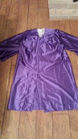 "Graduation Robe, Fits 5'3"" to 5'5"", Purple in Kingwood, Texas"