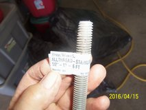 "All Thread Stainless Threaded Rod 1/2""-13 - 6 ft.  Course thread in Alamogordo, New Mexico"