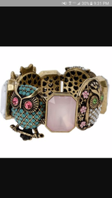 Betsey Johnson owl bracelet - Reduced! in Camp Lejeune, North Carolina