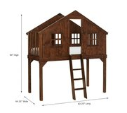 Price Reduced! Treehouse Loft Bed (pOTTERY bARN kIDS) in Eglin AFB, Florida