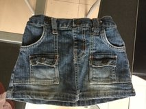 Jeans skirt for girls, size 90, 3T in Okinawa, Japan