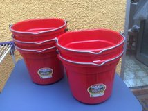 5 Gallon Utility Buckets - Great for balcony gardening! in Ramstein, Germany