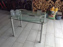 DINING ROOM GLASS TABLE in Ramstein, Germany