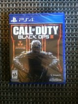 Ps4 call of duty black ops 3 brand new unopened in Watertown, New York