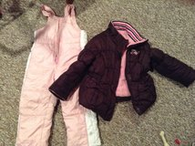 Girls 3T Winter Coat & Snowpants in Joliet, Illinois
