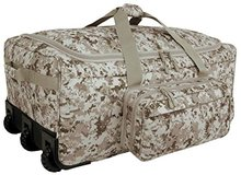 Wheeled Deployment Bag Desert Marpat Almost New in Camp Pendleton, California