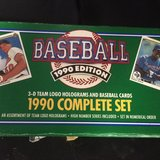 Topps 1990 baseball card set in Houston, Texas