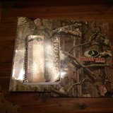 Mossy oak 3 ring binder, pocket folder and notebook in Houston, Texas