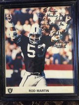 Rod Martin Signed Photo in 29 Palms, California