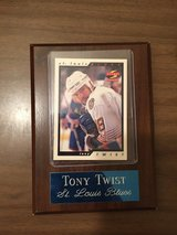 Tony Twist Plaque in 29 Palms, California