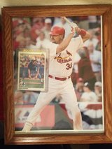 Larry Walker Plaque and Rookie Card in 29 Palms, California