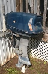 REDUCED! 1967 Evinrude 28 hp electric start in Warner Robins, Georgia