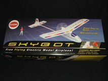 Cox SKYBOT Free Flying Electric Model Airplane New in Box in Lockport, Illinois