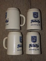 Set of 4 Kloster Andechs 2012 Annual Steins in Stuttgart, GE