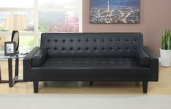 BLACK SOFA BED FREE DELIVERY in Huntington Beach, California