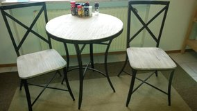 Breakfast table and 2 chairs in Los Angeles, California