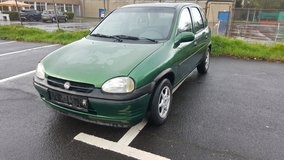 Opel Corsa 1998 Automatic with only 60000 miles Passed Inspection in Ansbach, Germany