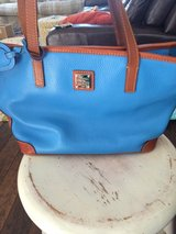 Dooney & Bourke Charleston Shopper in Aegean Blue in Camp Lejeune, North Carolina