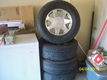 For sale Cadillac Ecalade Wheels and tires, Rims Yukon, Tahoe, Denali - $850 in Lawton, Oklahoma