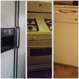 Refrigerator,  stove & free dishwasher in Fort Bliss, Texas