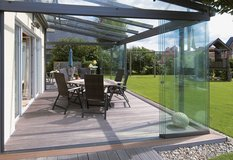 Model  Terracce with Glasses very nice roof glassess and oppening doors with glass complete in Ramstein, Germany