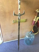 440 stainless sword 50 inches missing cap on top in 29 Palms, California