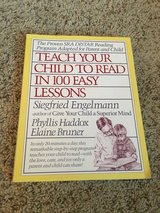 Book- Teach Your Child To Read In 100 Easy Lessons in Houston, Texas