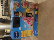 Like new Vtech 3-in-1 Stroller and Doll in Plainfield, Illinois