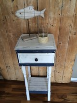 Nautical inspired table/ custom made in Naperville, Illinois