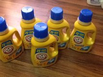 Arm & Hammer Liquid Laundry Detergent (5) in Beaufort, South Carolina