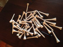 48 Wooden Golf Tees in Naperville, Illinois