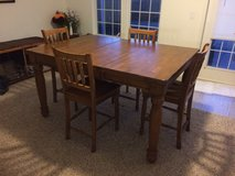 7 pc Solid Oak Counter Height Dining Room / Kitchen Table Set in Fairfax, Virginia