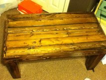 Hand crafted coffee table in Beaufort, South Carolina