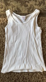 White Tank Top in Dyess AFB, Texas