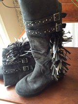 Girls Justice boots size 2 in Joliet, Illinois