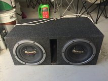 2-10 inch subs with box in Fort Leonard Wood, Missouri