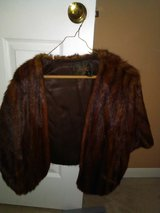 antique real fur wrap in Spring, Texas