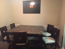 Table and 5 Bar High Chairs in Columbia, South Carolina