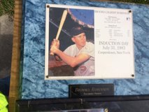 Brooks Robinson plaque...Balitmore Orioles...Induction Day in Cherry Point, North Carolina