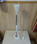 ikea white table lamp with on/off (light bulb included) ,Store Demo item,No Used,Total High:27'' in Lockport, Illinois