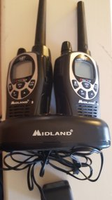 Assorted walkie talkies in Fort Bliss, Texas