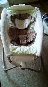 baby rocker monkey style with music and vibration. in Morris, Illinois