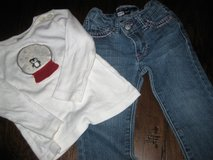 2T gymboree top/Levis jeans in Kingwood, Texas