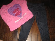 18-24 month jeggings/top in Spring, Texas