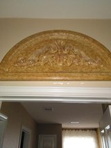2 gold resin marble looking plaque in The Woodlands, Texas